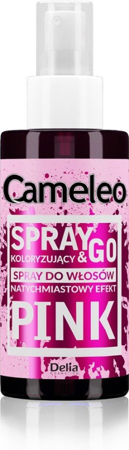 DELIA*CAMELEO Spray&Go RÓŻ spray kolor.150ml