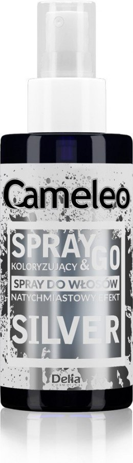 DELIA*CAMELEO Spray&Go SREBRNY spray kolor.150ml