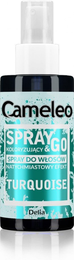 DELIA*CAMELEO Spray&Go TURKUS spray kolor.150ml