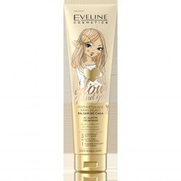 EVELINE*BODY Balsam 150ml Glow&Go złote drobinki