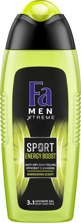 Fa MEN ENERGY BOOST Żel pod prysznic 750ml