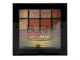 Eveline All in One Eyeshadow Palette Cienie do powiek Burn - paletka 12g