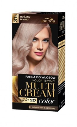 Joanna Multi Cream Color Farba nr 31.5 Różany Blond