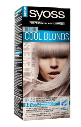 Schwarzkopf Syoss Farba do włosów Cool Blonds 10-55 Ultra Platynowy Blond 1op.