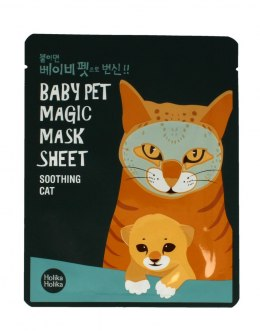Holika Holika Baby Pet Magic Mask Sheet Maska w płacie Soothing Cat 1szt