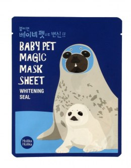 Holika Holika Baby Pet Magic Mask Sheet Maska w płacie Whitening Seal 1szt