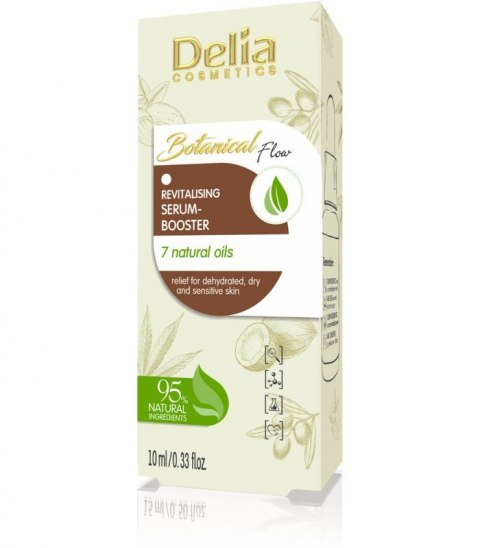 DELIA*BOTANICAL FLOW Serum d/twa oleje mix 10ml