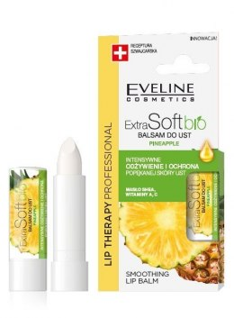Eveline Lip Therapy Professional Balsam ochronny do ust Extra Soft Bio - Ananas 4g