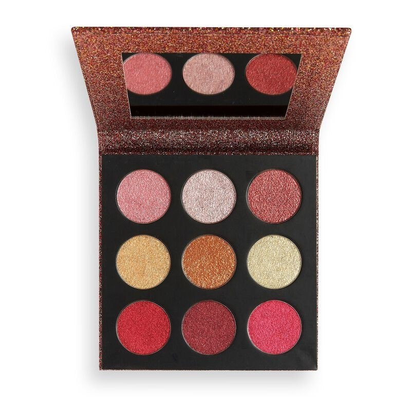Makeup Revolution Euphoric Foil Palette (9) Zestaw cieni do powiek House of Fun 1szt