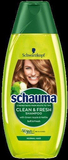 H*SCHAUMA SZAMP CLEAN&FRESH Jabłko 400ml