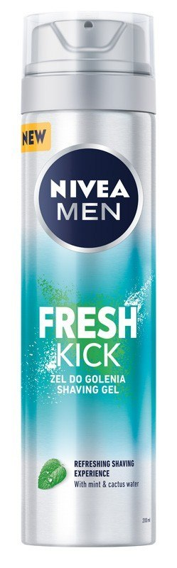 NIVEA*MEN Żel do golenia FRESH KICK 81730