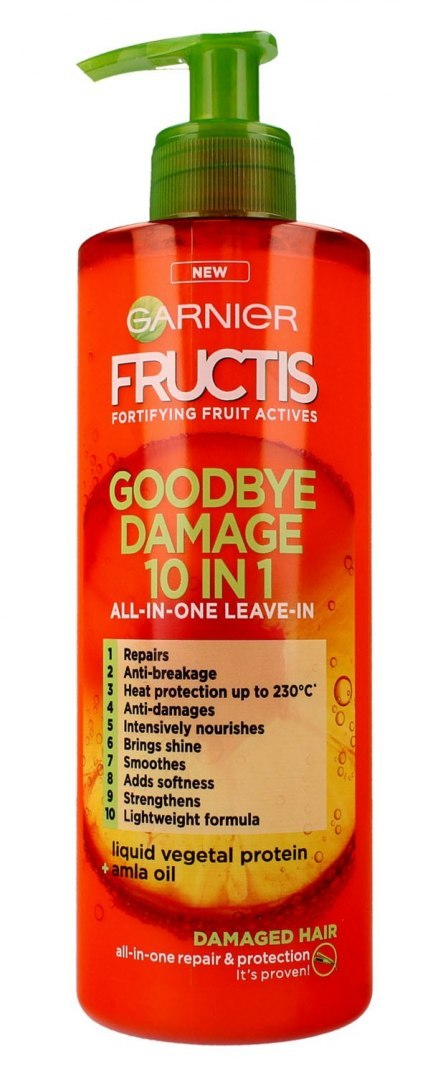 Garnier Fructis Goodbye Damage Krem do włosów 10w1 400ml