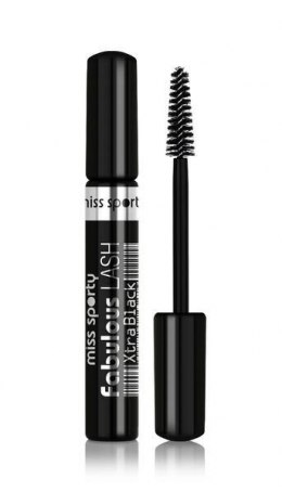 Miss Sporty Maskara do rzęs Fabulous Lash Xtra Black czarna