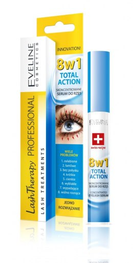 Eveline Lash Therapy Odżywka do rzęs 8w1 Total Action 10ml