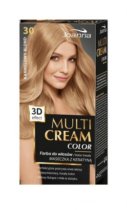 Joanna Multi Cream Color Farba nr 30 Karmelowy Blond