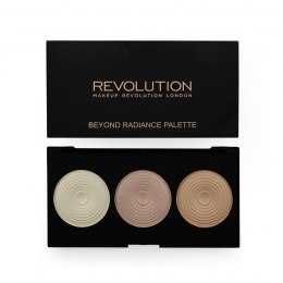 Makeup Revolution Highlighter Palette Radiance Rozświetlacze 15g