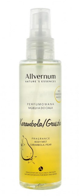 Allvernum Nature's Essences Mgiełka do ciała perfumowana Karambola & Gruszka 125 ml