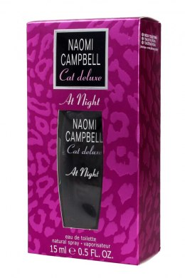 Naomi Campbell Cat Deluxe At Night Woda toaletowa 15ml