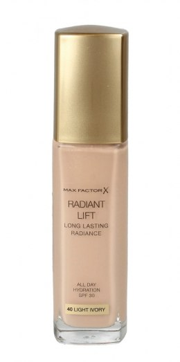 Max Factor RADIANT LIFT Podkład kryjący nr 40 Light Ivory 30ml