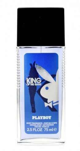 Playboy King of the Game Dezodorant naturalny spray 75ml