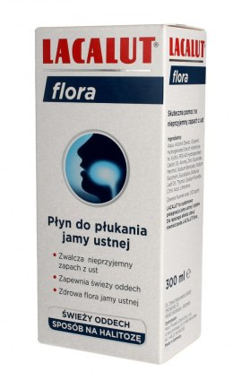 Lacalut Płyn do płukania ust Flora 300ml